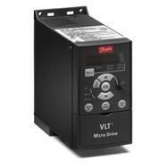 Danfoss VLT Micro Drive FC-051 0,75 кВт, 3ф, 380В, 2,2 А. FC-051PK75T4E20H3XXCXXXSXXX